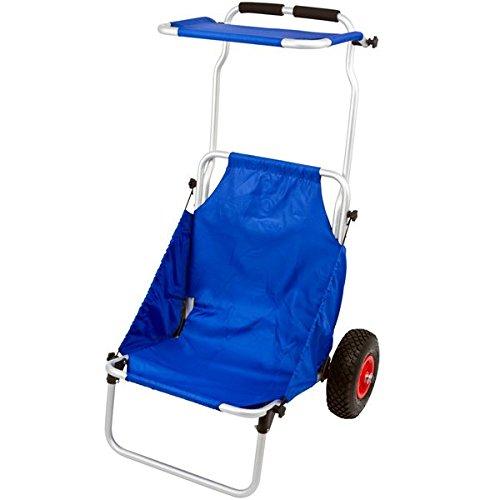 Catalina Creations Folding Beach Chair Cart