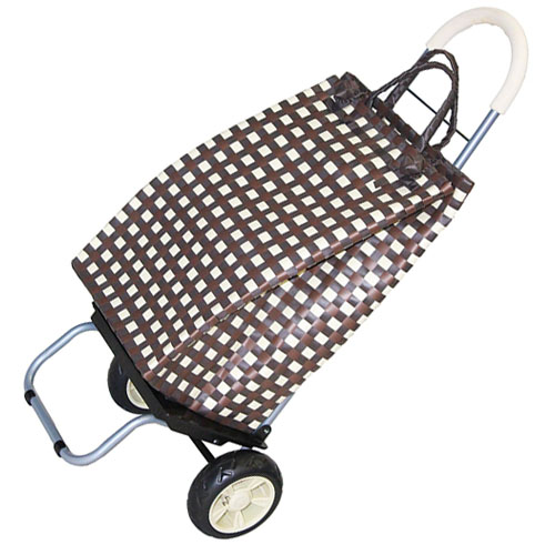 DBest Trolley Foldable Cart Picnic Beach and Shopping