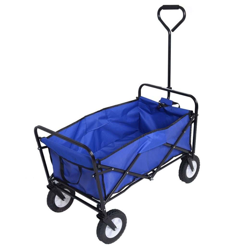 JDM Beach Folding Wagon Cart