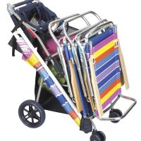 Rio Brands Deluxe Wonder Wheeler Beach Cart