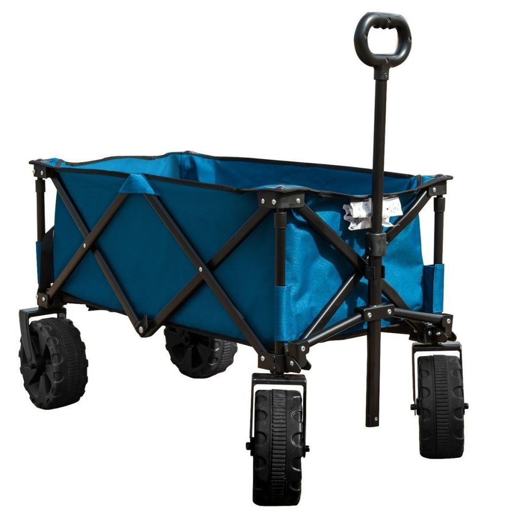 Timber Ridge Folding Beach Camping Wagon Cart