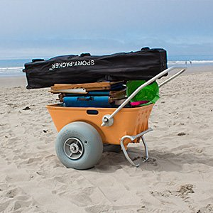 Wheeleez Beach Cart - Heavy Duty 220lbs