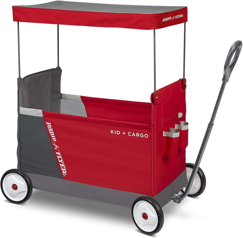 Radio Flyer Kid & Cargo Wagon with Canopy